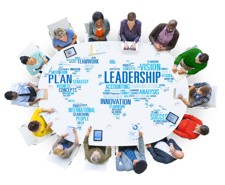 trainer device: Leadership Boss Management Coach Chief Global Concept