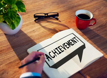 accomplishment: Achievement Goal Target Success Accomplishment Concept Stock Photo