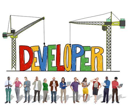 mangement: Developer Development Improve Skill Mangement Concept