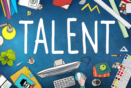 browse: Talent Gifted Skills Abilities Capability Expertise Concept Stock Photo
