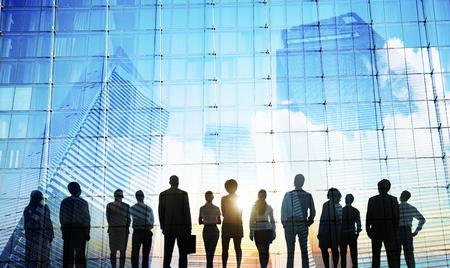 Business People Inspiration Goals Mission Growth Success Concept Stock fotó