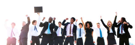 winning concept: Business Peope Success Celebration Winning Concept Stock Photo
