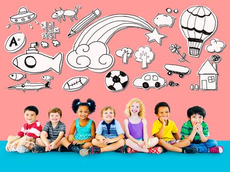 imaginacion: Hobby Immagination Diversión Creatividad Actividad Inspiration Concept