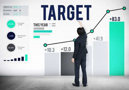goal: Target Goal Aspiration Aim Vision Success Concept