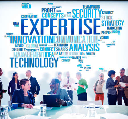 Expertise Skill Ability Expert Performance Concept Stock Photo