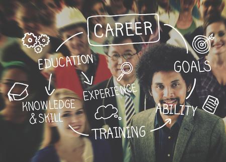 Praca Praca Praca Rekrutacja Zawód Concept