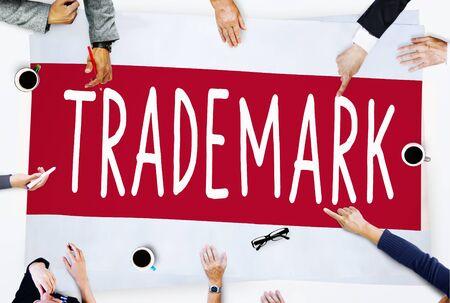 Trademark Product Marketing Identity Copyright Concept Stock Photo