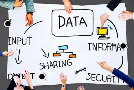 information analysis: Data Analysis Storage Information Concept Stock Photo