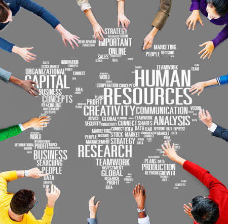 Human Resources Career Jobs Occupation Employment Concept Stock Photo