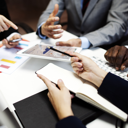 Organizacja Business Team Corporate Meeting Concept