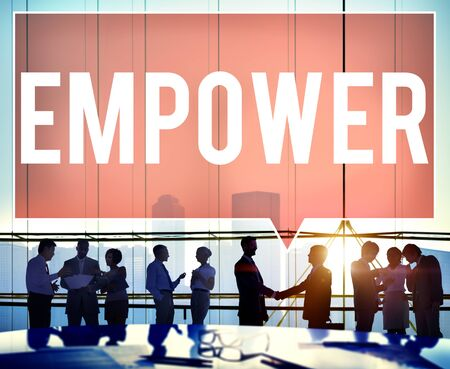 empower: Empower Authority Permission Empowerment Enhance Concept
