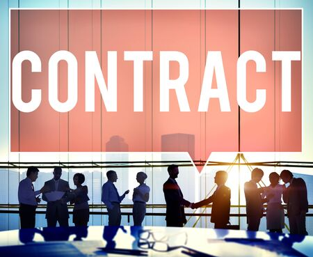 commitment: Contrato de Acuerdo Trato Compromiso Negociaci�n Concepto