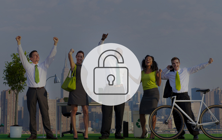 liberate: Unlock Freedeom Free Liberate Unlocked Concept Stock Photo