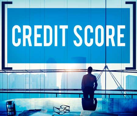 debt goals: Credit Score Financial payment Rating Budget Money Concept