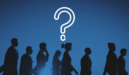 questionable: Question Mark Asking Confusion Thought Help FAQ Concept