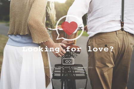 dating: Looking for Love Valantine Romance Heart Dating Passion Concept