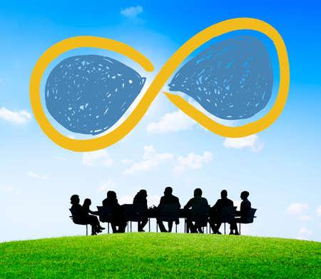 the loop: Infinity Eternidad Loop siempre Concepto Eterno