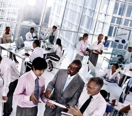 Colleghi di lavoro Organizzazioni squadra Concetto di comunicazione di lavoro