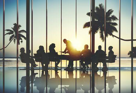 seaview: Corporate Meeting Seminar Analyzing Business Team Concept