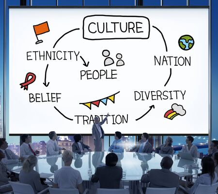 ethnicity: Culture Ethnicity Diversity Nation People Concept