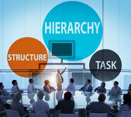 jerarqu�a: Estructura Jerarqu�a Tarea Multinivel Concepto Empleo