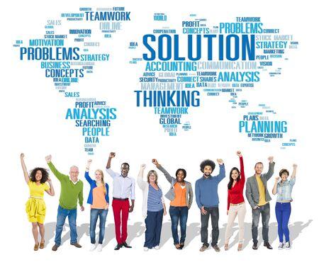 in problem: Solution Solve Problem Strategy Vision Decision Concept