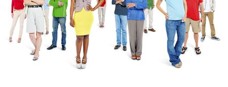 social gathering: Large Group of People Community Social Gathering Concept Stock Photo
