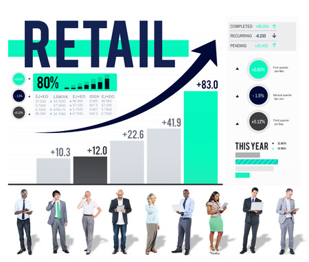 commerce: Retail Commerce Consumer Purchase Shopping Concept