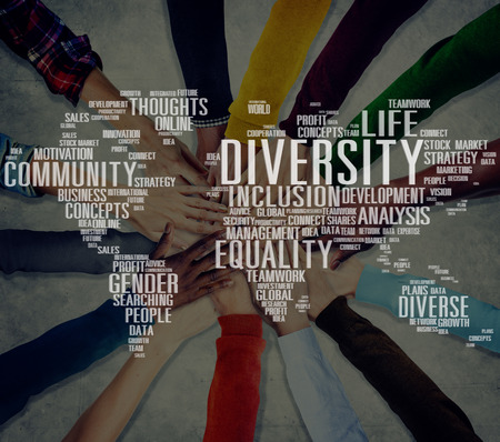 Diverse Equality Gender Innovation Management Concept Stock Photo