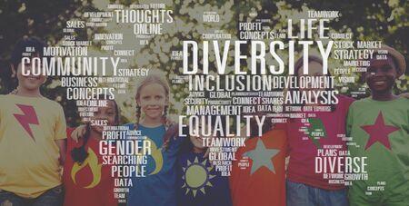 Diverse Equality Geschlecht Innovationsmanagement-Konzept
