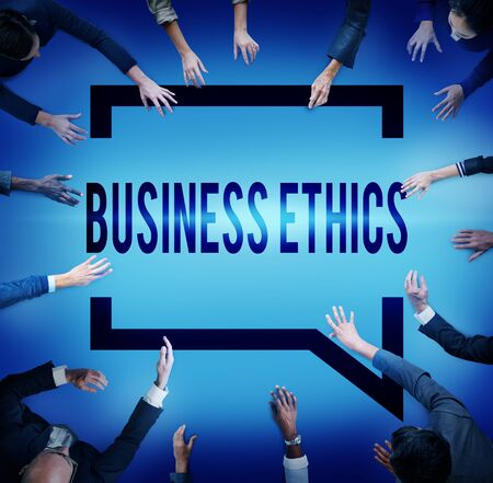business ethics: Business Ethics Honesty Ideology Responsibility Strategy Concept