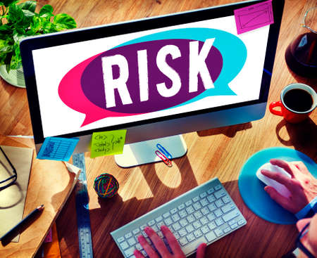 unsure: Risk Dangerous Hazzard Gamble Unsure Concept Stock Photo