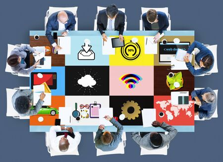 asian man laptop: Technology Social Media Networking Online Digital Concept