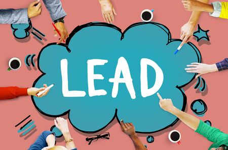 �authority: Lead Leader Authority Boss Director Business Concept