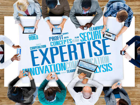 expertise: Expertise Skill Ability Expert Performance Concept Stock Photo