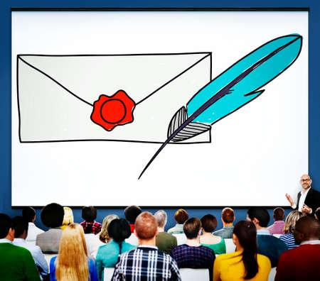 correspondence: Correo correspondencia Comunicaci�n Concepto Conexi�n