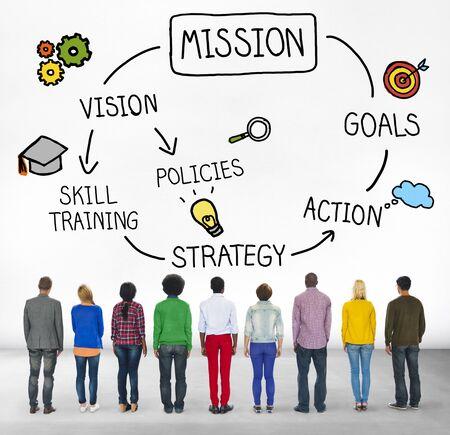 facing backwards: Mission Skill Training Action Inspiration Concept