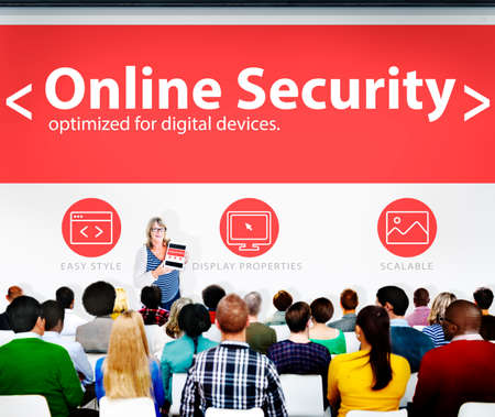e systems: Digital Online Business Security Network Working Concept