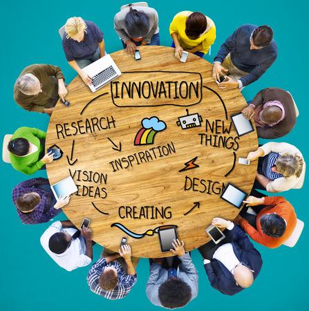 Innovación Invención Vision Research Concept Futuro