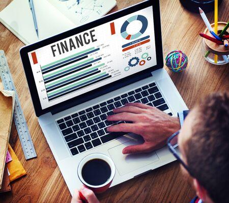 Finanzwirtschaft-Investitions-Geld-Finanzkonzept