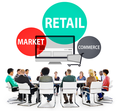 purchase: Retail Consumer Commerce Market Purchase Concept Stock Photo