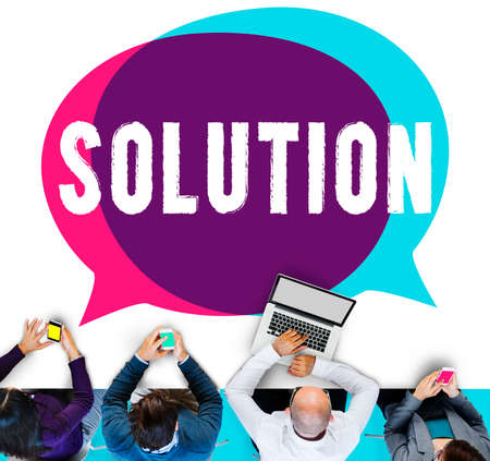 breaking new ground: Solution Solving Problem Resolve Strategy Concept