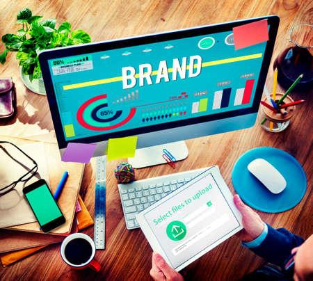 distinction: Brand Branding Business Advertising Badge Banner Concept