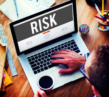 weakness: Risk Chance Safety Security Unsure Weakness Concept