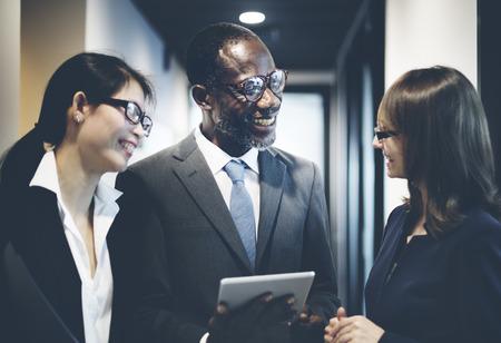 ethnic diversity: Business Team Corporate Organization Working Concept