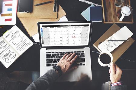 Calender Planner Organization Management Remind Concept Stock Photo - 51910534