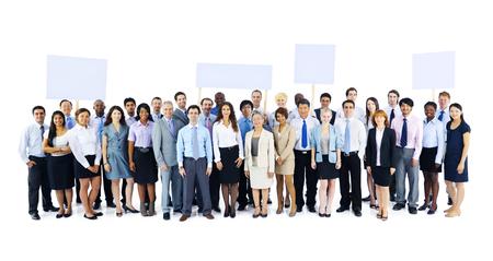 gente adulta: Colegas de colaboración concepto cooperación corporativo Foto de archivo