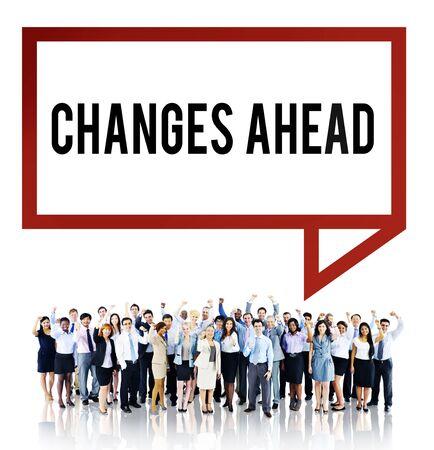 aspiration: Changes Ahead Ambition Aspiration Improvement COncept