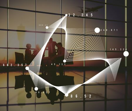 parabola: Analysis Graph Parabola Mathemetics Geometric Concept Stock Photo