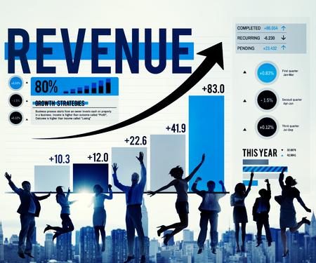 profit celebration: Revenue Profit Income Finance Money Concept